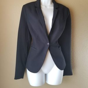 The Limited Black One button Blazer, Size Small